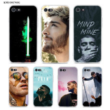 Transparent Soft Silicone Phone Case Zayn Malik One Direction for iPhone XS X XR Max 8 7 6 6S Plus 5 5S SE