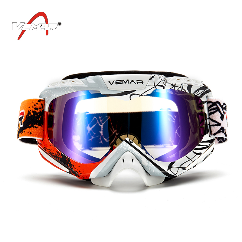 2019 New Motocross Glasses Off Road ATV UTV Casque Motorcycle Gafas Goggles Dirt Bike MX Goggle Glasses Lunettes de moto