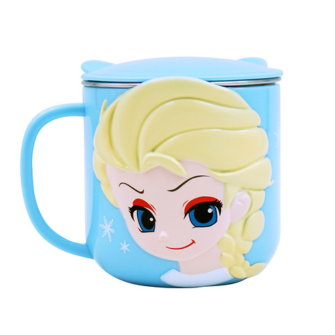 Baby Training Cup Stainless Steel Mugs For Kids Feeding Cup Infant Drinking Cup Water Bottle With Lid Kids Cup Copo De Bebes Karachi
