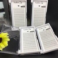 Wholesale price 20 trays 2D volume eyelash C D curl 0.07mm 0.10mm individual eyelash extensions