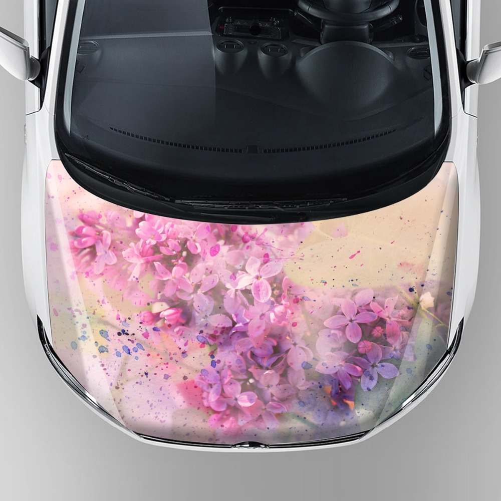 Waterproof vinyl car wrap sticker decorative vinyl vehicle stickers car hood bonnet graphics decal stickers with self adhesive in car stickers from