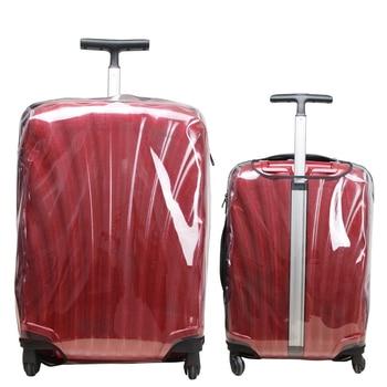 32965655446 - Good-bag Store - Cubierta transparente de equipaje grueso para maleta Samsonite, Fundas protectoras, accesorios de viaje, funda de equipaje de viaje con cremallera
