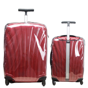 Image 1 - Thicken Transparent Luggage Cover for Samsonite Clear Suitcase Protective Covers Travel Accessories Zipper Travel Luggage Cover