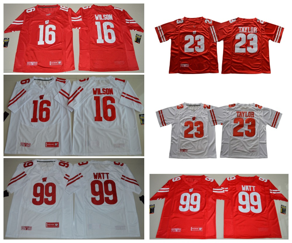new styles 85d2b 5ba24 greece badgers 23 jonathan taylor red under armour stitched ...