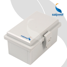 100*160*85mm ABS Waterproof  Connection Box  with Plastic Draw Latches / Hinge Type  Enclosure SP-MG-1016085