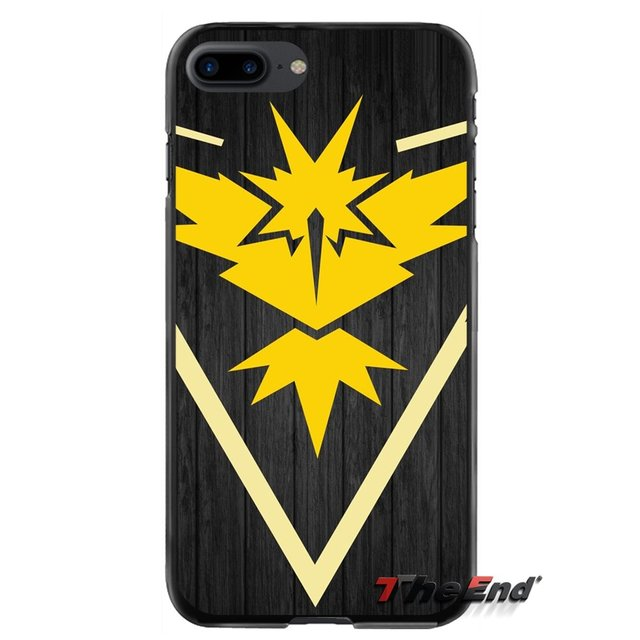 fashion Pokemon Go team instinct Accessories Phone Cases Cover For ...