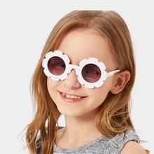 MYT_0124 Children Flower Sunglasses Fashion Baby Sunflower Glasses Boys And Girls Kids Sunglasses Shades For Children the new children s fashion sunglasses 3025 baby dazzle colour shades classic 3026 children metal frog mirror