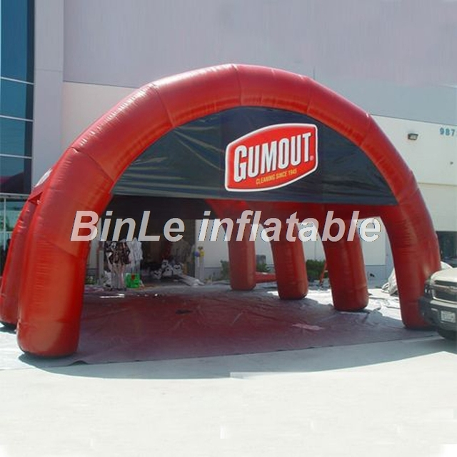 10m giant outdoor inflatable sport dome inflatable tennis court tent arch tent for events