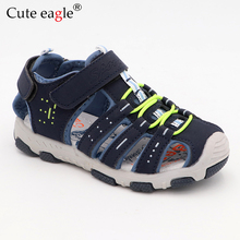 Rubber Closed Toe Kids Sports Sandals Boys Childrens Summer Beach Girls For Toddler kid No.899