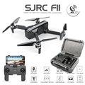 SJRC F11 Дрон с GPS с Wi-Fi FPV 1080 P камера бесщеточный Квадрокоптер 25 минут время полета управление жестами складной Дрон Vs SG906