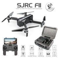 SJRC F11 Дрон с GPS с Wi Fi FPV 1080 P камера бесщеточный Квадрокоптер 25 минут время полета управление жестами складной Дрон Vs SG906