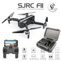 SJRC F11 GPS Drone Mit Wifi FPV 1080 P Kamera Bürstenlosen Quadcopter 25 minuten Flugzeit Gesture Control Faltbare Eders vs CG033