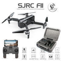 SJRC F11 GPS Drone With Wifi FPV 1080P Camera Brushless Quadcopter 25 minutes Flight Time Gesture Control Foldable Dron Vs SG906
