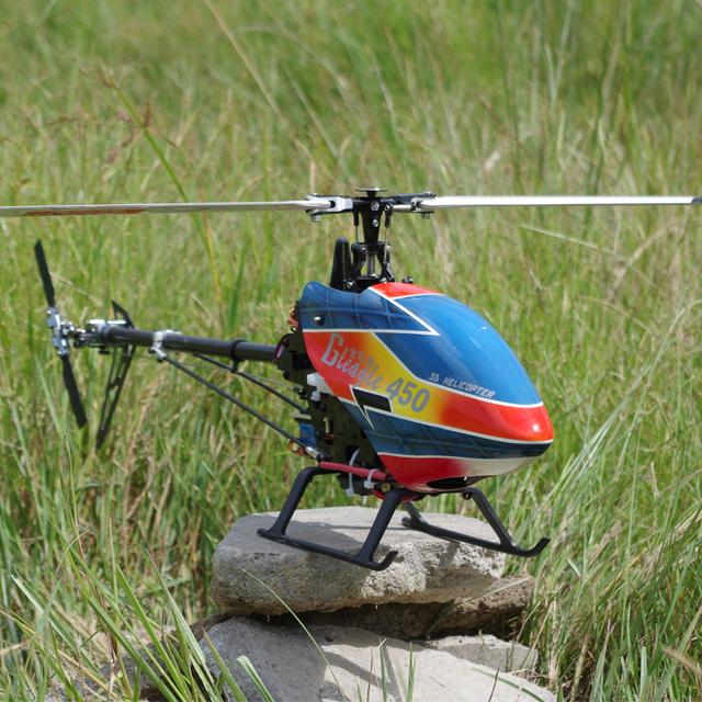 RTG GlEagle 450C Helicóptero DEL RC 6CH con Flybar/RTF Aviones 3D Truco para entusiastas de los aviones modelo profesional