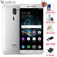 Original coolpad legal 1 3g ram 32g rom leeco cool1 4g lte telefone móvel inteligente android 6.0 5.5 Polegada traseira dupla 13.0mp menu russo
