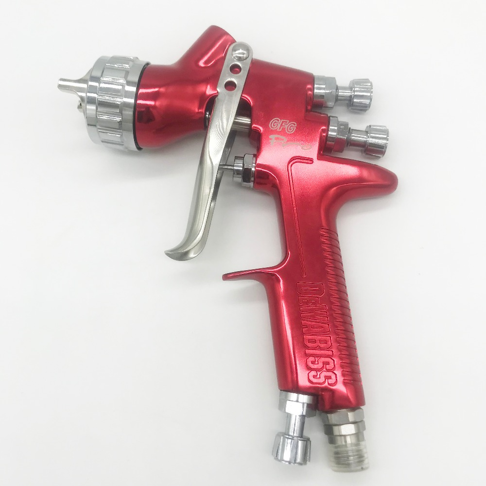 DEWABISS GFG Spray Paint Gun 1.3mm Airbrush Airless Spray Gun For Painting Cars Pneumatic Tool Air Brush Good Quality