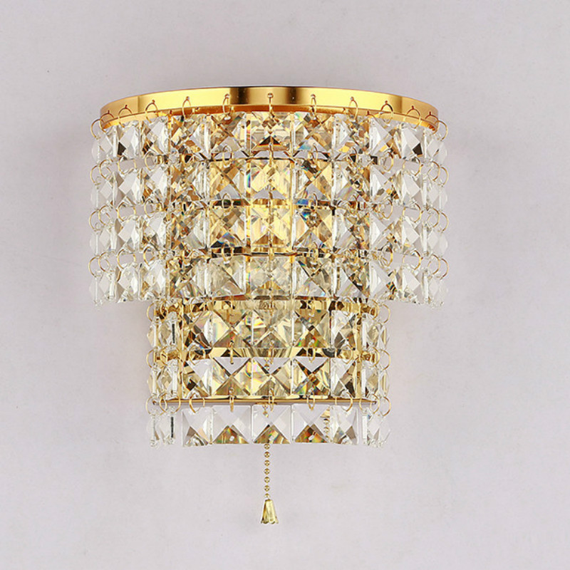 Wholesale Price Crystal Wall Lamp Modern led Wall Light Simple Fashion Bedroom Led Sconce Indoor Sconces LightingWholesale Price Crystal Wall Lamp Modern led Wall Light Simple Fashion Bedroom Led Sconce Indoor Sconces Lighting