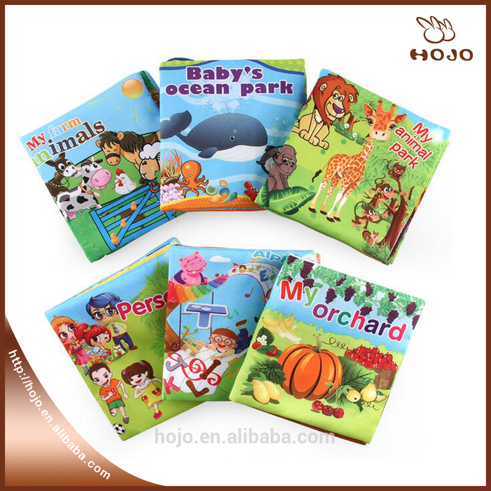 Children Fabric Book Baby Kids Educational Toy Baby Cloth Book