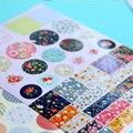 4 Unids/lote Barato Pegatinas Kawaii Papelería Creativa Escuela de Espalda Etiqueta Hecha A Mano Pegatinas Diario Pegatinas Juguetes de Los Niños DIY de la Historieta