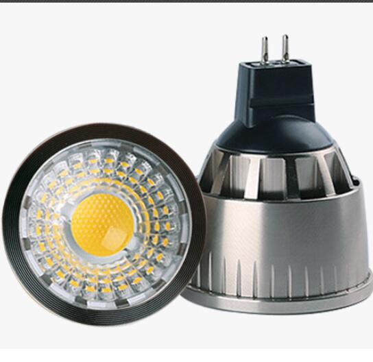 Spot LED GU10 Tavan Lambası E27 E14 GU5.3 MR16 LED Spot Lamba COB Spot ışığı Kısılabilir 3 W 5 w 7 w spot Ampul lamba AC 85-265 V