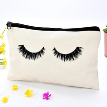 Mutifunctional Portable Cartoon Cosmetic Bags 3D Printed Eyelash with Letter Necessaries for Women Travelling Dropshipping deanfun cosmetic bags 3d printing pug animal women makeup organizer necessaries for travelling dropshipping 50132