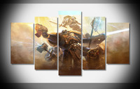 7110 16404 warhammer 40k space marines poster Framed Gallery wrap art print home wall decor wall picture Already to hang