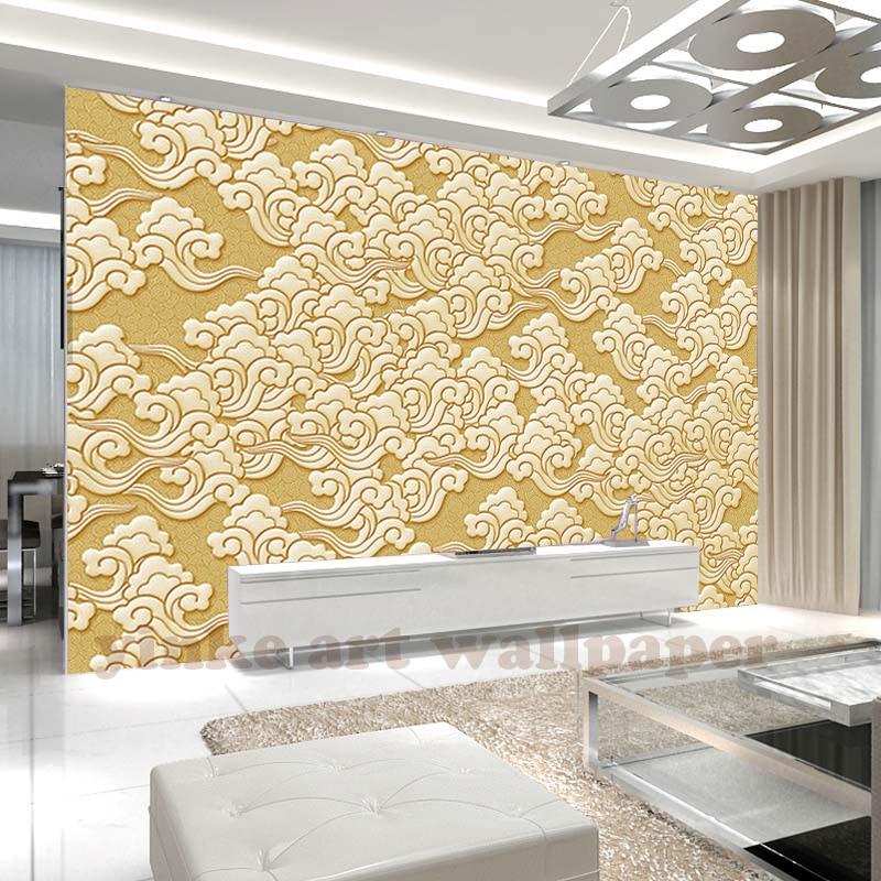 Custom 3d klassieke relief behang voor woonkamer slaapkamer muurschildering muur papier desktop - Carta da parati 3d camera da letto ...