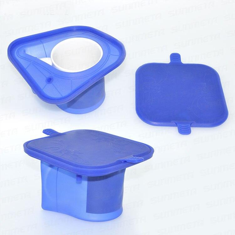 Free Shipping Silicone Rubber Single 11OZ Irregular Mug Fixture Clamp For 3D Mini Sublimation Mug Printing wtsfwf freeshipping 6pcs lot 12oz conic mug clamp rubber conic mug clamp silicone cone mug clamp for 3d sublimation transfer