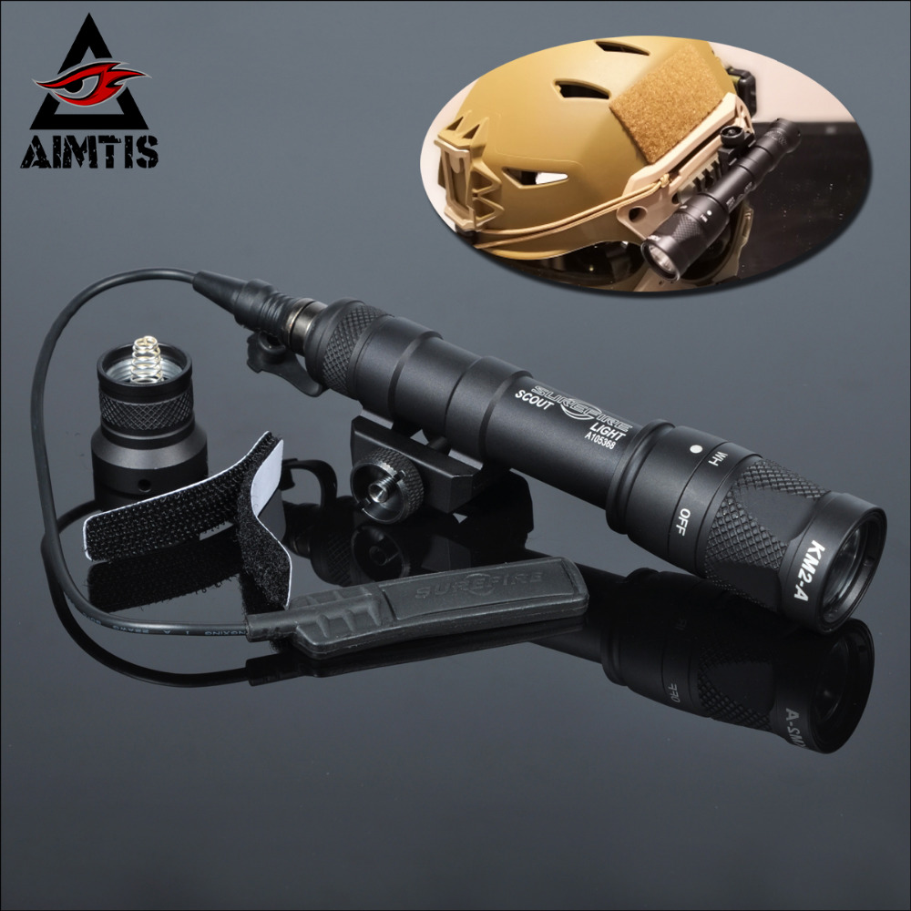 AIMTIS M600V IR Light Scout NV Hunting Night Evolution LED Flashlight Armas Tactical Infrared Weapon Light For Outdoor Sports