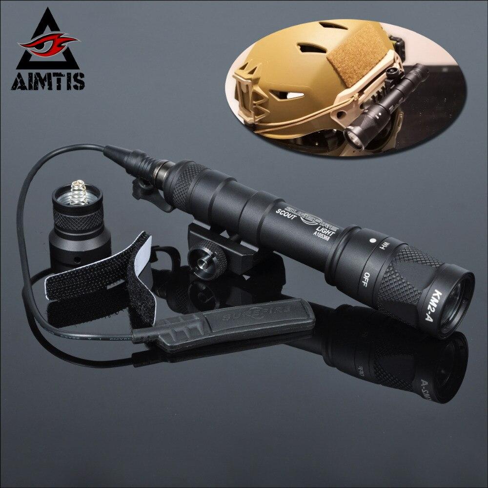 AIMTIS M600V IR lumière Scout NV chasse nuit évolution lampe de poche LED Armas tactique infrarouge arme lumière pour les Sports de plein air