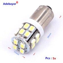 5pcs ba9s 20 smd super bright ba9 20 led light bulbs solar light 12 volt led lights