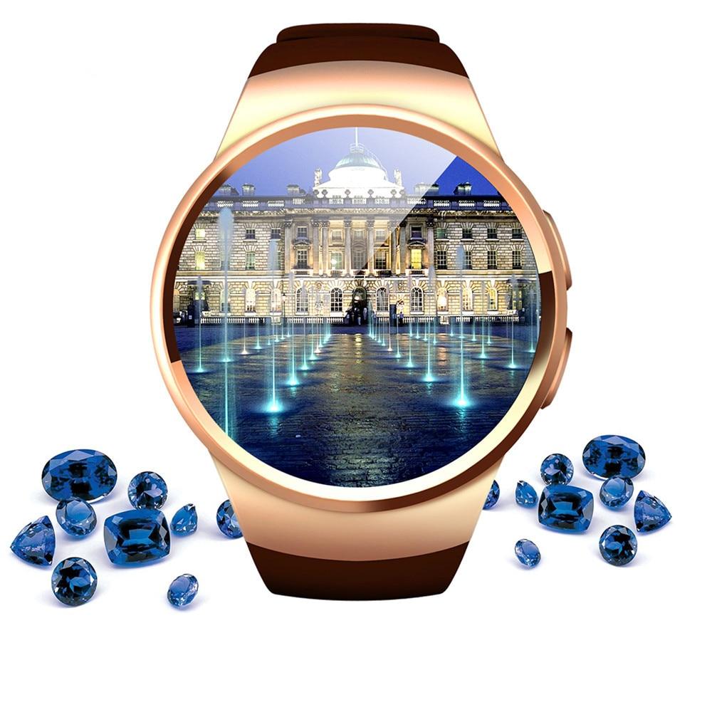Kingwear KW18 Sport Smart Watch Heart Rate IPS Screen bluetooth smartwatch Fitness Tracker App support SIM TF Card IOS Android new garmin watch 2019
