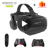 Bobovr Z5 Bobo VR Gerceklik Virtual Reality Glasses 3d Headset Helmet Goggles Casque 3 D For iPhone Android Phone Smartphone Ios