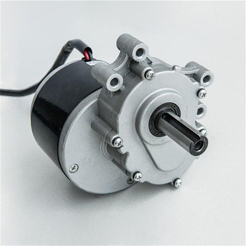 Qualité MY1016ZL 24 V 250 W Robot Fauteuil Roulant Électrique à Engrenages Brossé Fauteuil Roulant DC Moteur 75 TR/MIN 120 TR/MIN 160 TR/MIN frein Électromagnétique