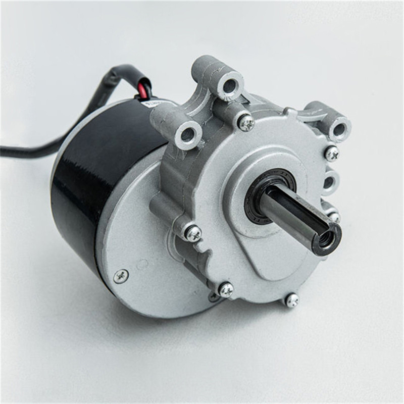Quality MY1016ZL 24V 250W Robot Electric Wheel Chair Brushed Gear Wheelchair DC Motor 75RPM 120RPM 160RPM Electromagnetic brake-in Electric Bicycle Motor from Sports & Entertainment on AliExpress