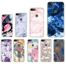 Back Phone Cover For Alcatel 1S 2019 5.5-inch Stylish Design Soft Phone Case Colorful Painted TPU Silicone Cover(China)