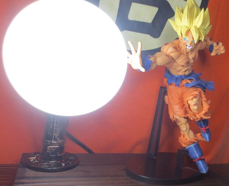 KNL ХОББИ Dragon Ball LED настольная лампа модели взрыва ручной Король Обезьян Супер сид Чашки Глаз творческий подарок на день рождения