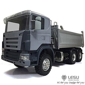1/14 hydraulic dump truck Scania full drive 6X6 dump truck high torque electric model LS-20130006 RCLESU Tamiya truck