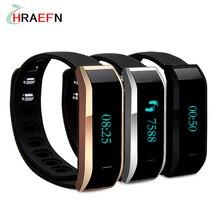 Hraefn TW07 Bluetooth Умный Браслет Браслет Спорта деятельности Фитнес-трекер Браслет Smartband OLED часы для Android IOS