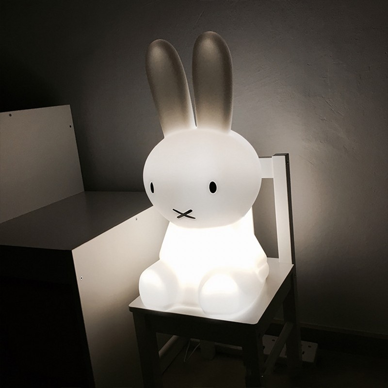 Rabbit Brown Bear Night Light LED Dimmable 7 Color/ Warm Light Baby Gift Night Light Animal Cartoon Decoration Bedside Lamp beiaidi 7 color usb rechargeable rabbit led night light dimmable animal cartoon light with remote baby kids christmas gift lamp