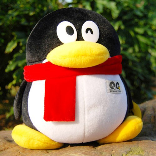 Tencent QQ penguin doll-in Stuffed & Plush Animals from Toys