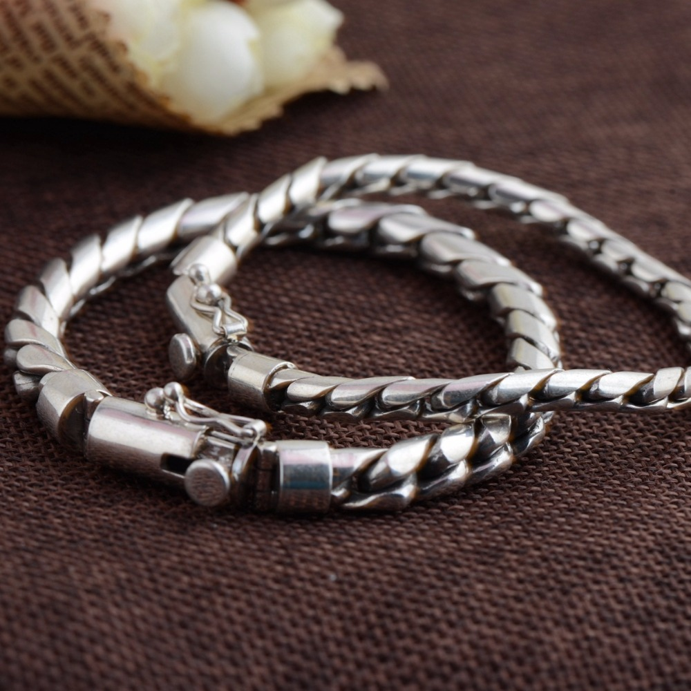 Thai Silver Ethnic 925 Sterling Silver Bracelet&Bangle For Men&Women Fashion Ethnic Handmade Style Bracelet Fine Jewelry 5pcs fashion 925 sterling silver fine jewelry bangle