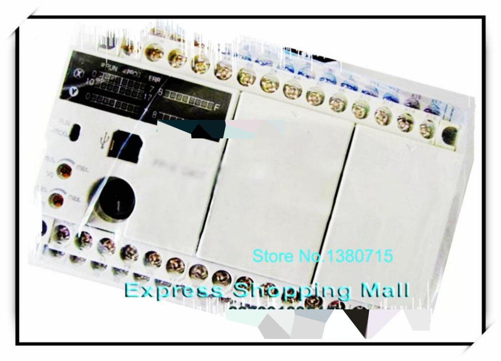 New Original AFPX-C40T PLC AC100-240V 16 DC input points 16 NPN output points FP-X Control Unit new original afp0rc32ct plc24 v dc 16 input points 16 input points fp0r control unit