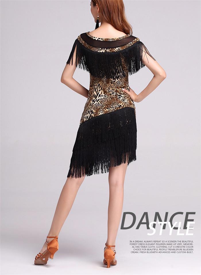 9fd6ac39d8 Dziewczyna Dzieci Latin Dance Strój Do Tańca Towarzyskiego Dzieci  Standardowy Latin Konkurs Suknie Backless Tango Samba Chacha KostiumyUSD  20.97 piece