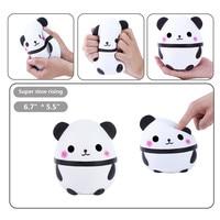 HIINST 2017 Fun Jumbo Cute Panda Kawaii Cream Squishy Stress Relief Toy For Kids Free Shipping