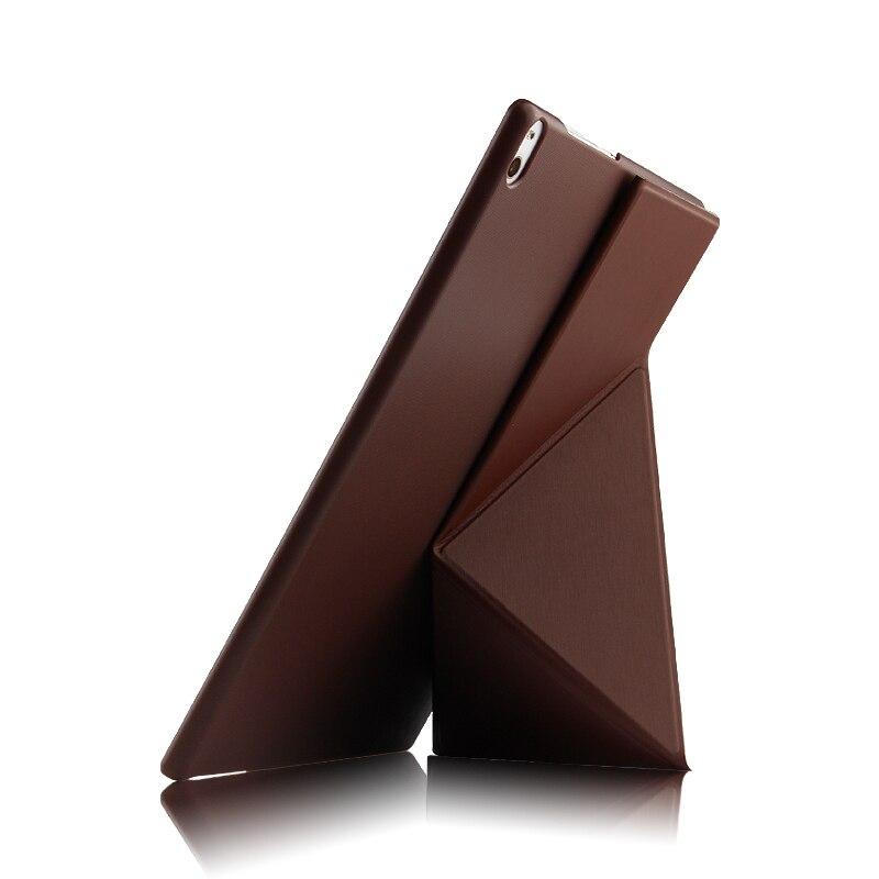 Ultra Slim Stand Transformateurs Fold Étui En Cuir PU Housse De Protection pour Lenovo TAB 4 10 Plus TB-X704N TB-X704F Tablet + Film + stylo