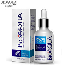 BIOAQUA Acne Treatment Serum Whitening Brightening Oil Control Liquid Removal Best Solution 30ML