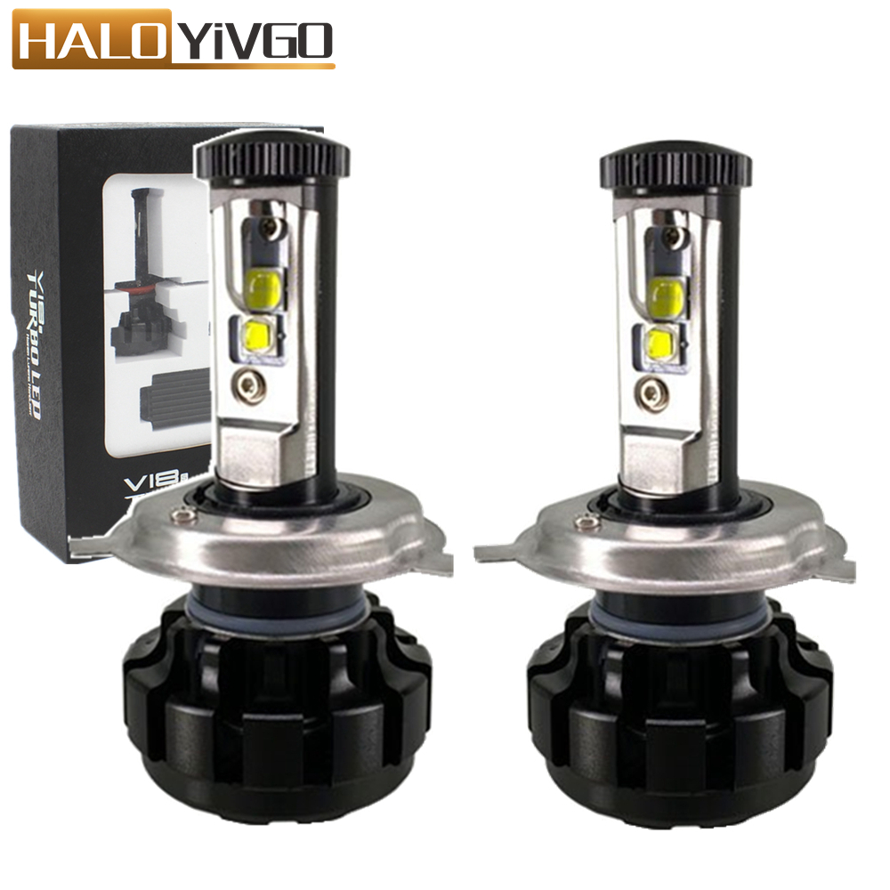 H4 H13 9004 9007 Hi/Lo H1 H3 H7 H11 9005 9006 LED Car Headlight Bulb 80W XHP50 Chips 6000K Conversion Kit Auto Headlamp Bulbs 2016 h3 car led light auto modificated headlamp led headlight bulbs all in one conversion kit 80w 7200lm 6000k white