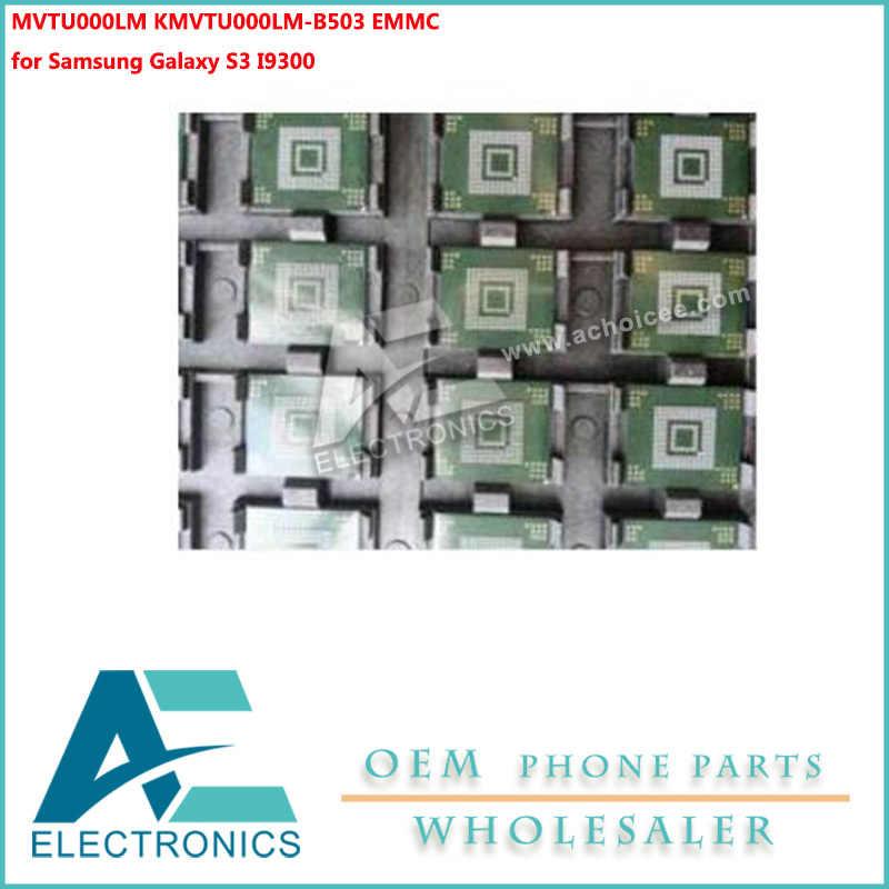 MVTU000LM KMVTU000LM-B503 EMMC لسامسونج غالاكسي S3 IC رقاقة ذاكرة فلاش NAND مع البرامج الثابتة على الدوائر اللوحة الأم