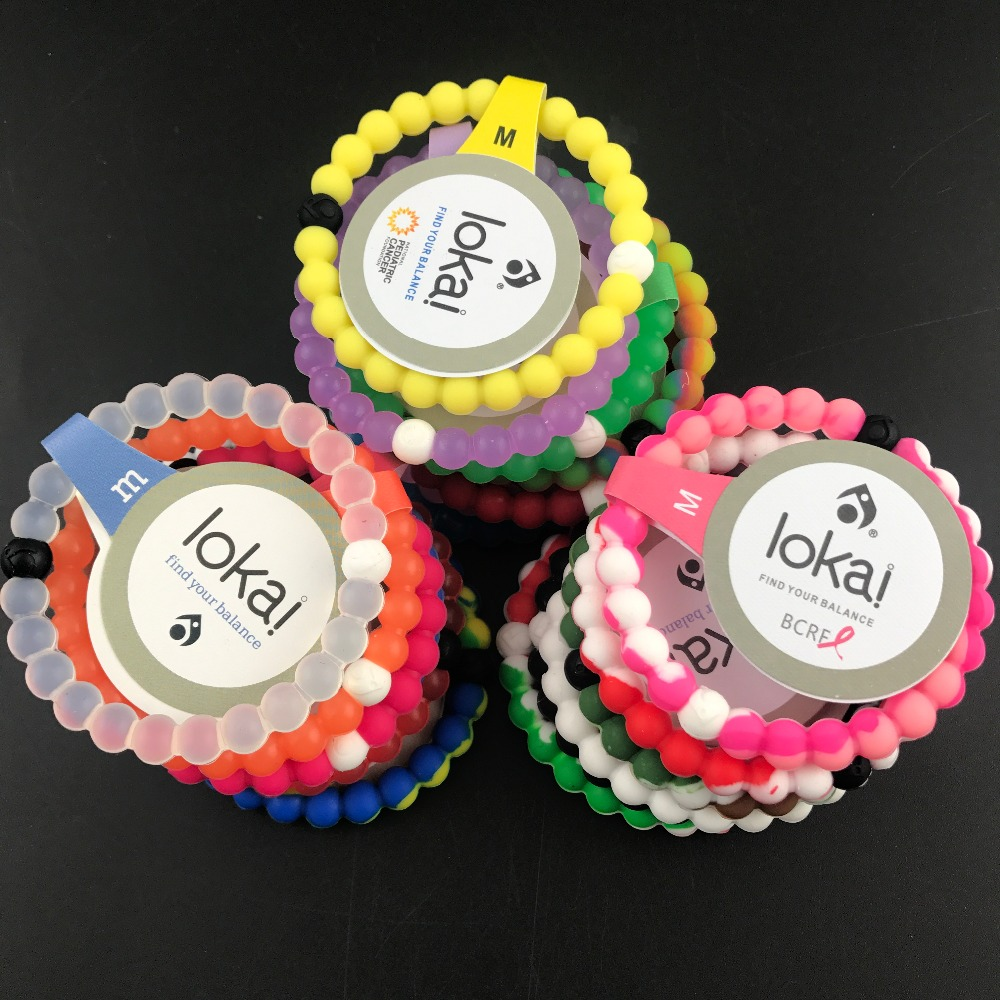 10pcs/lot ePacket free shipping fashion lokai bracelets 47 colors in stocks neon shark for christmas gifts in stocks